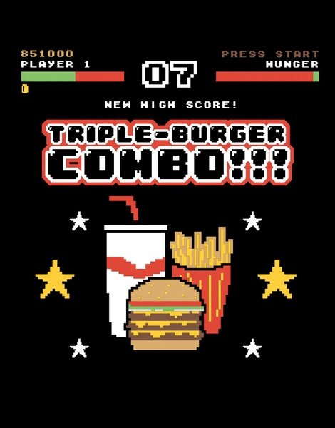 Triple Burger Combo!!! Hero Shot