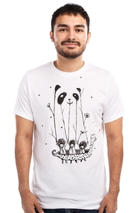 Fake Pandas Have More Fun, New Designs and Recent Reprints + Threadless Collection