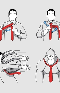 How to Tie a Tie Hero Shot