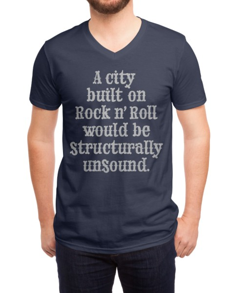 A city built on rock n' roll would be structurally unsound Hero Shot