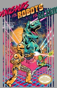Dinosaurs vs. Robots vs. Aliens Hero Shot