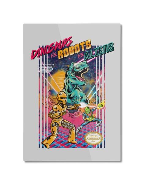 Dinosaurs vs. Robots vs. Aliens Hero Shot