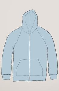 Light Blue Sweatshirts Hero Shot