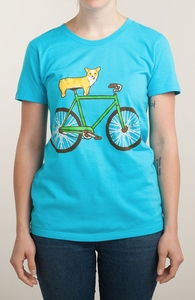 Corgi on a Bike Hero Shot