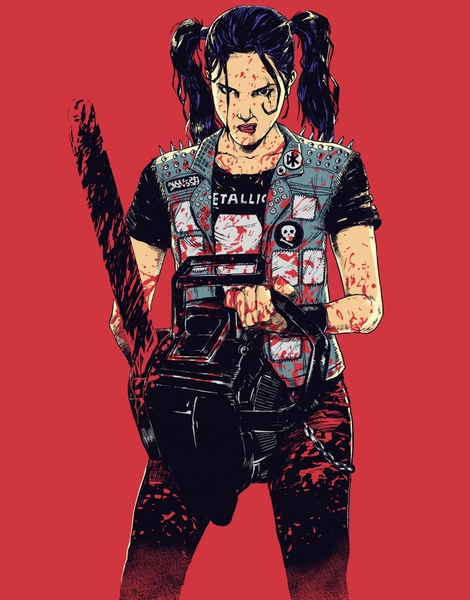 Zombie Slayer Hero Shot