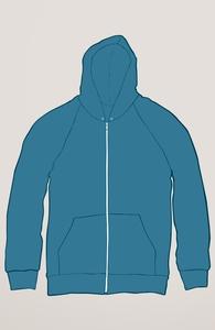 Medium Blue Sweatshirts Hero Shot