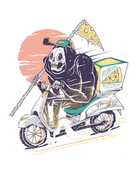 Reaper's Pizza Hero Shot
