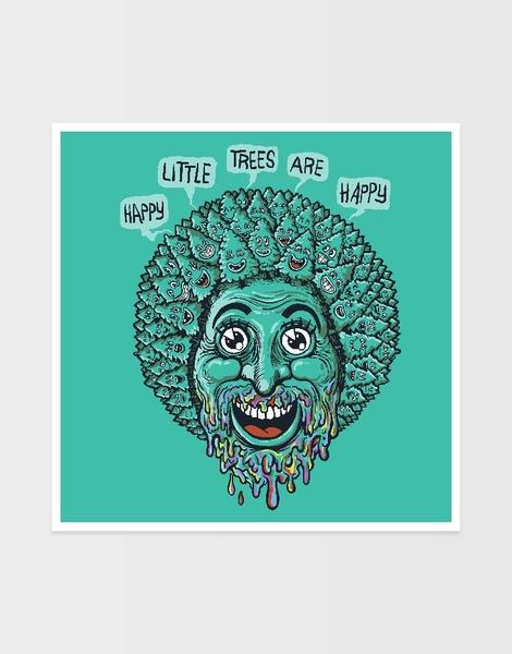 Happy Little Trees are Happy Hero Shot