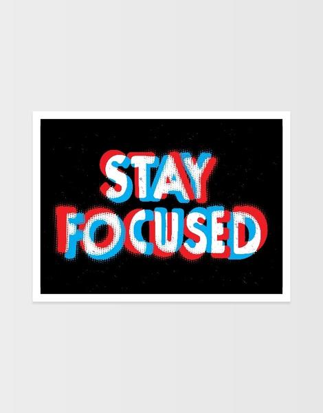Stay Focused Hero Shot
