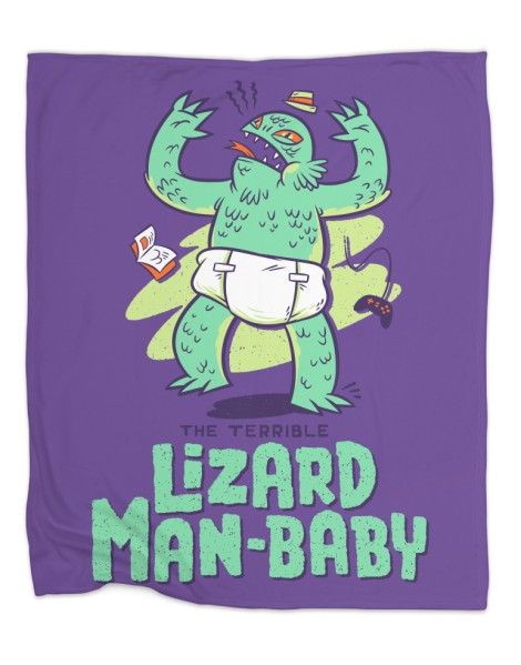 Lizard Man-Baby Hero Shot