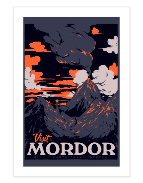 Visit Mordor Hero Shot