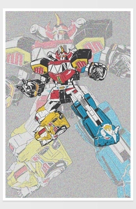 Megazord Hero Shot