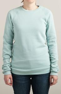 Light Grey Blue Sweatshirts Hero Shot