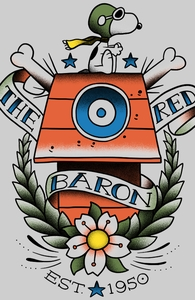 Red Baron Tattoo Hero Shot