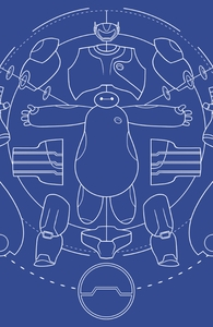 Baymax Blueprint Hero Shot