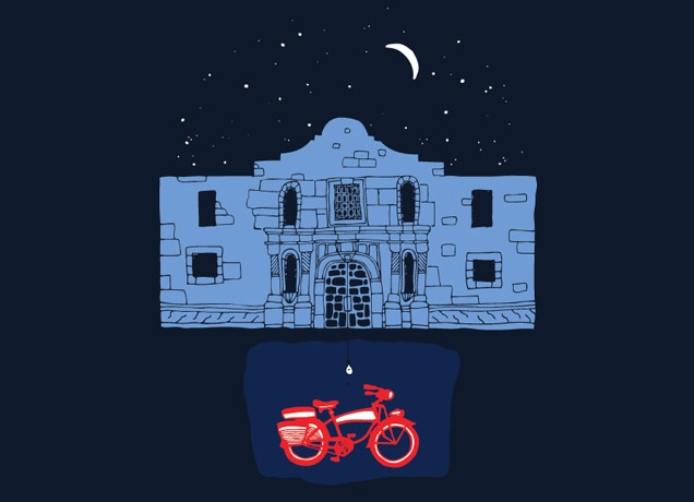 in the basement of the alamo by joshwa threadless