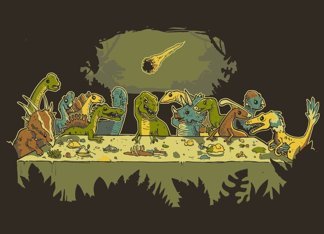 Last Dinosaur Supper