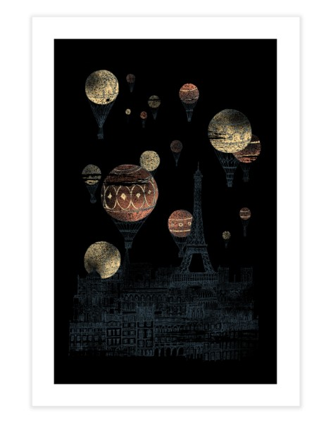 Voyages Over Paris Hero Shot