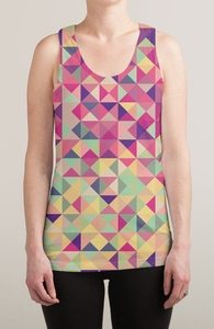 Pink Triangle Print Hero Shot