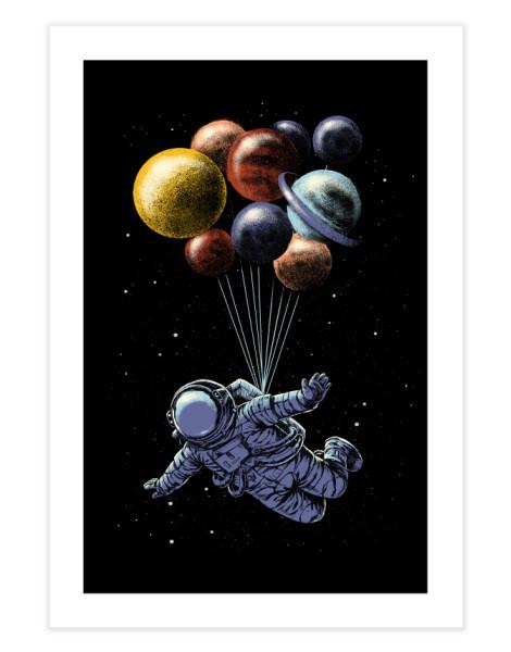 Space Travel Hero Shot