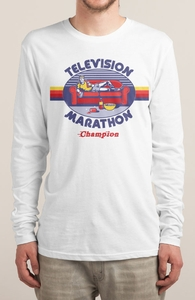 Television Marathon Champion Hero Shot