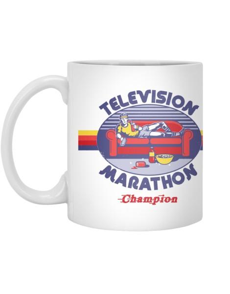 Television Marathon Champion Hero Shot