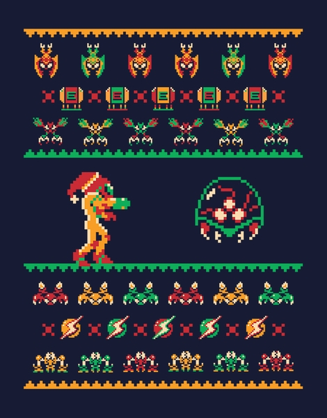 We Wish You A Metroid Christmas Hero Shot
