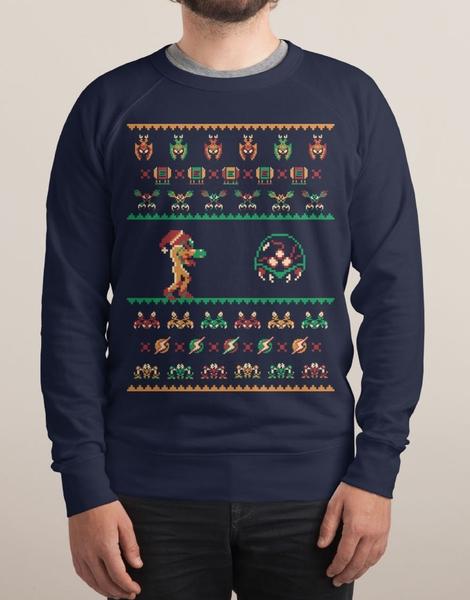 We Wish You A Metroid Christmas Hero Shot