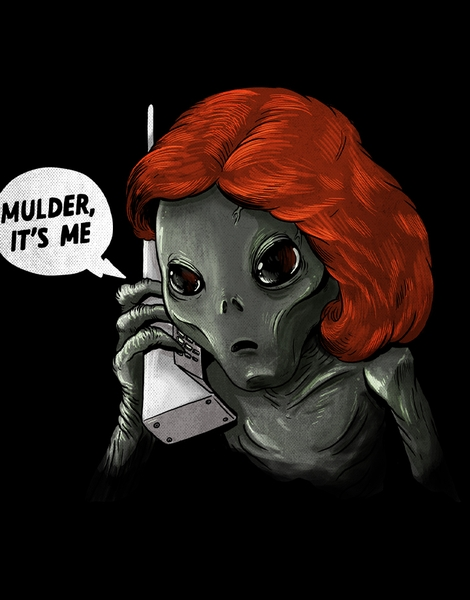 Mulder, It's me! Hero Shot