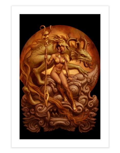 Dragon Priestess Hero Shot