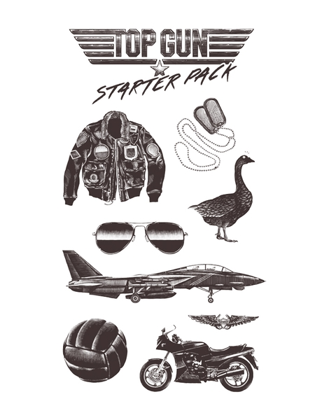 Top Gun Starter Pack Hero Shot