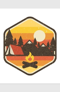 RETRO CAMPING Hero Shot