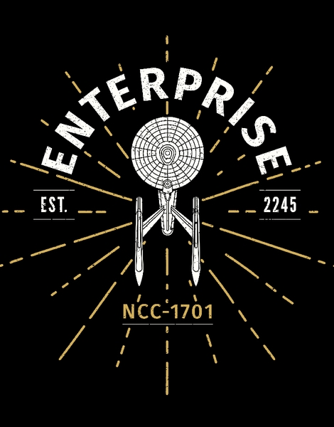 Star Trek Emblem: Enterprise Hero Shot