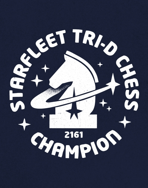 Starfleet Tri-D Chess Champion Hero Shot