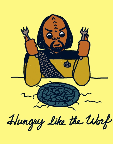 Hungry Like The Worf Hero Shot