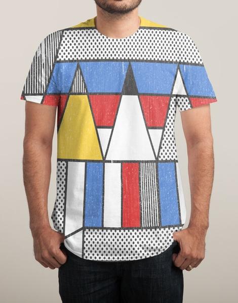 Mondrian's Duvet: Study #2 Hero Shot