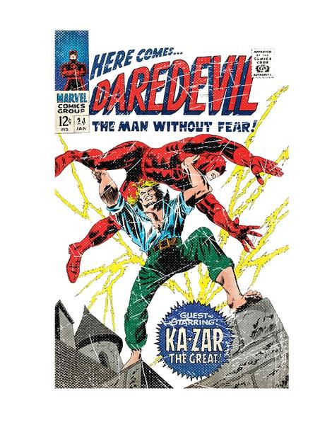 Here Comes Daredevil Hero Shot