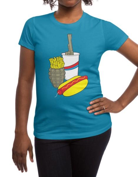 Fast Food Meal Hero Shot