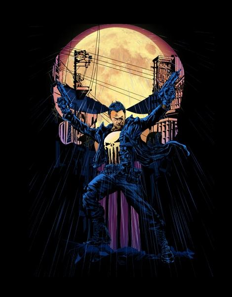 The Punisher is here! Hero Shot