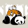 pandas t-shirts