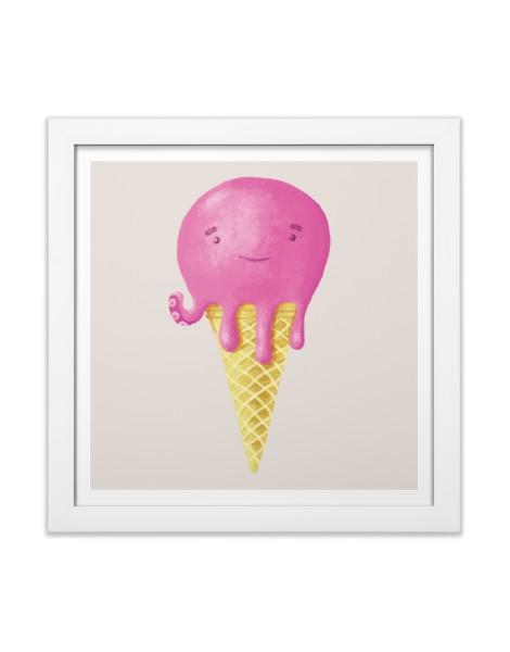 Octopus Ice Cream Hero Shot
