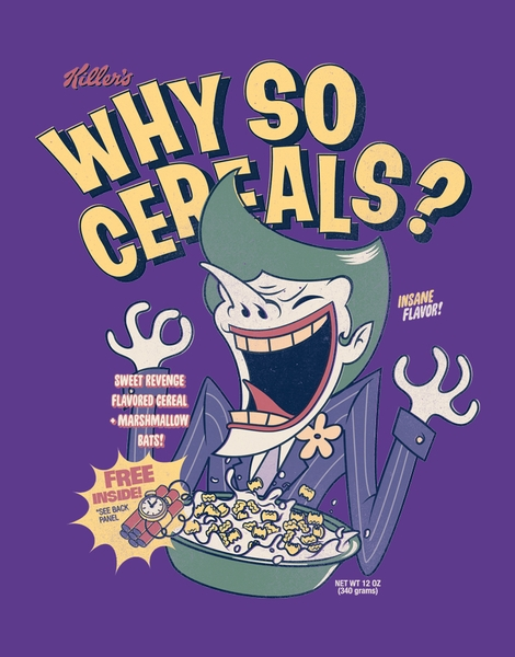 Why So Cereals? Hero Shot
