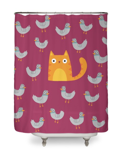 Cool Shower Curtain On Threadless