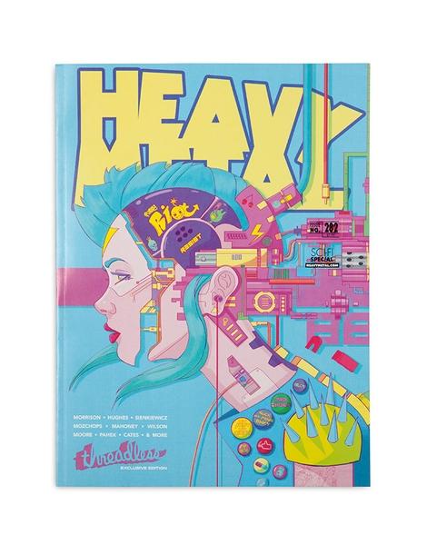Heavy Metal Magazine #282 - Threadless Variant Cover Hero Shot