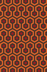 The Shining Overlook Hotel Rug Hero Shot