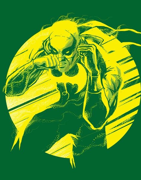 The Iron Fist Hero Shot