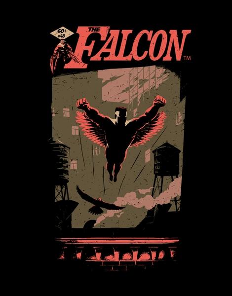 The Falcon Hero Shot