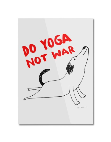 Do Yoga Not War Dog Hero Shot