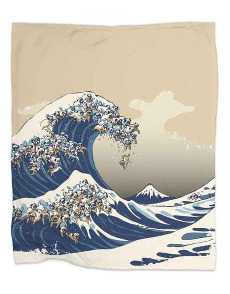 The Great Wave of Pug Hero Shot