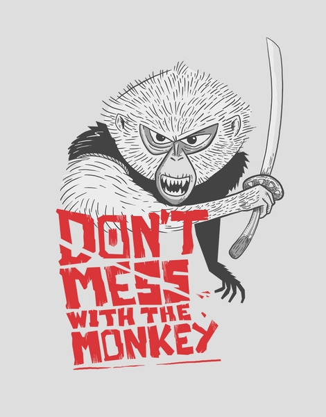 Don't mess with the monkey Hero Shot